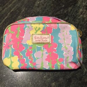 Never used Lilly for Estée Lauder cosmetic bag